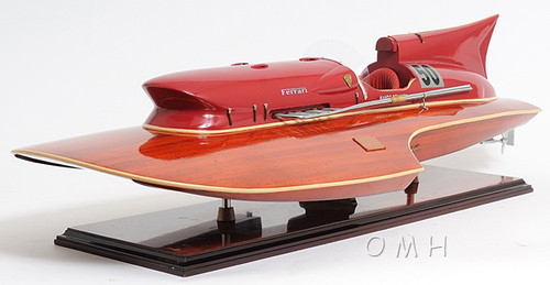 Arno Ferrari Hydroplane Power Speed Boat Model