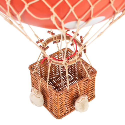 Valentines Day Red Hearts Hot Air Balloon Model