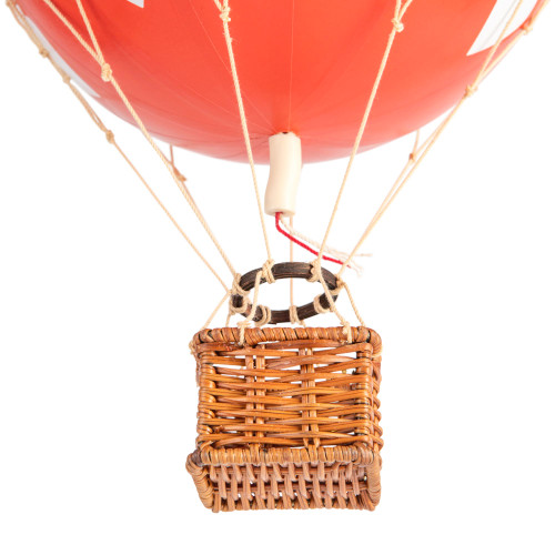 Valentines Day Red Hearts Hot Air Balloon Hanging Decor