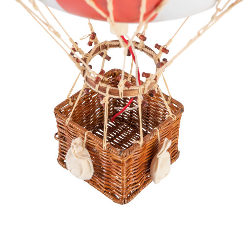 Patriotic US American Flag Hot Air Balloon Model Hanging Decor