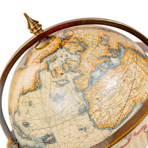 Small Terrestrial Globe Old World Mercator Desk Decor