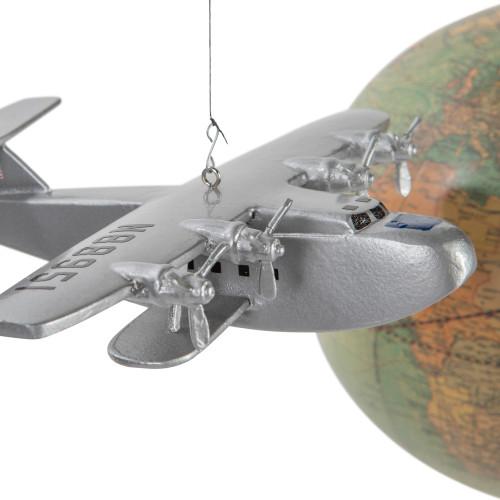 Around the World Airplane Globe Mobile Hanging Aeromobile
