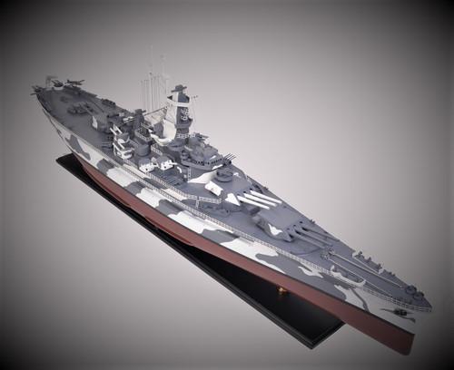 Battleship USS Alabama BB-60 Model Memorial Park Museum Ship