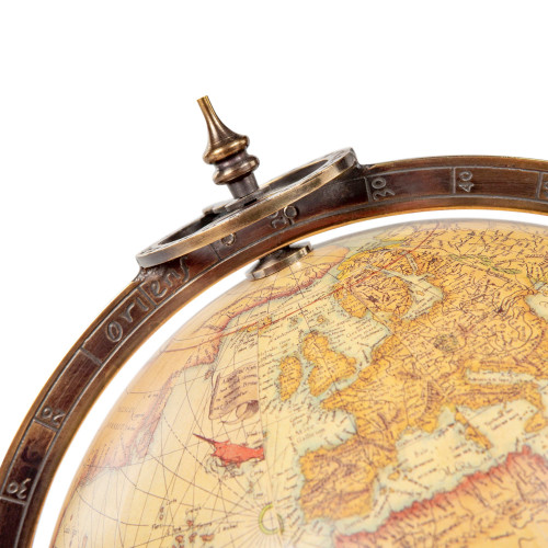 16th C. Mercator Terrestrial Globe Old World Decor