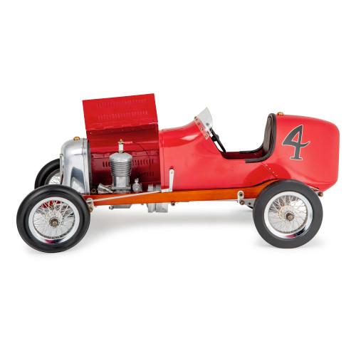 Bantam Midget Red 1930s Tether Car Model
