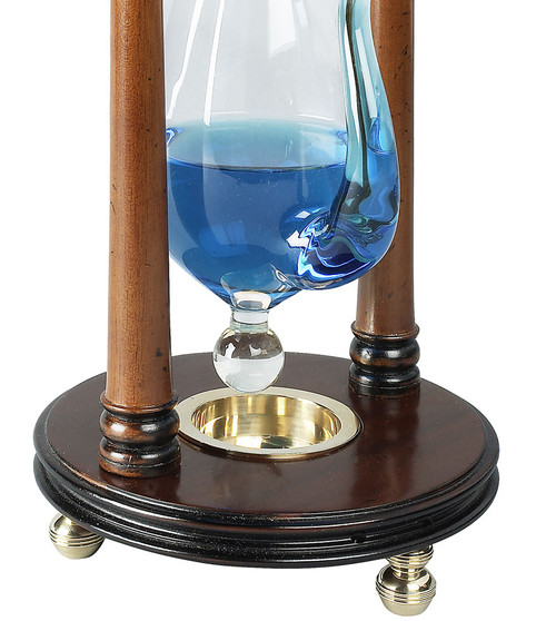 Weather Storm Glass Water Barometer Tabletop Instrument