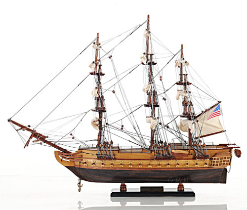USS Constitution Tall Ship Model Old Ironsides