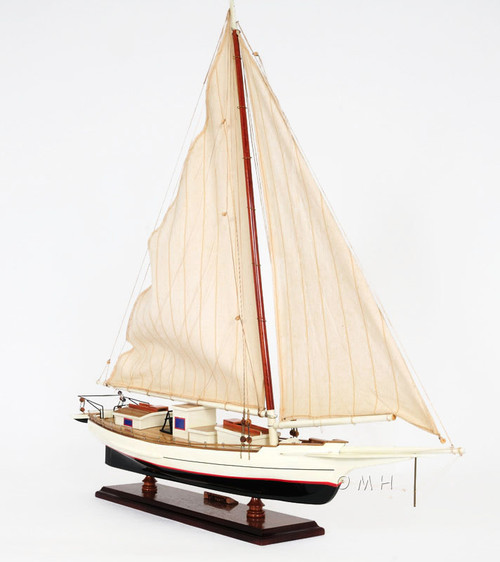 Chesapeake Bay Skipjack Model Oyster Dredging Boat