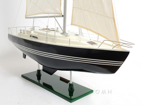 Victory Sailing Yacht Wooden Sailboat Model