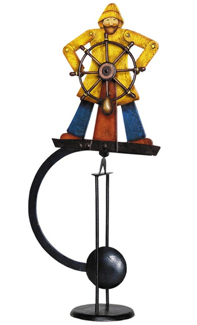 Nautical Helmsman Sky Hook Sailor Tetter Totter