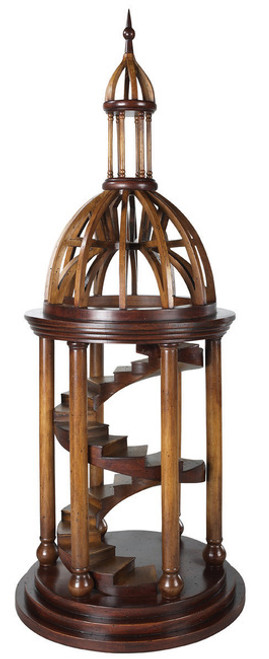 Bell Tower Antica Architectural 3D Wooden Model