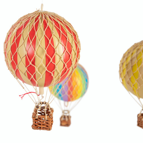 Flying the Skies Balloon Mobile Primary Colors