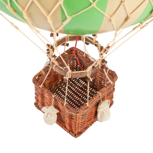 Green Royal Balloon Model Hanging Aviation Decor