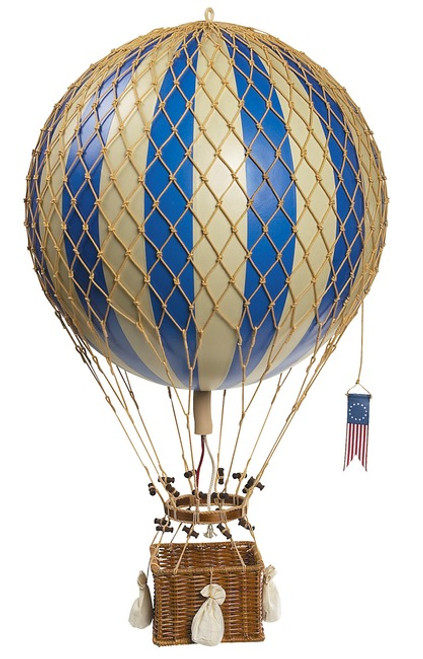 Blue Royal Aero Hot Air Balloon Model