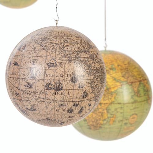 Old World Terrestrial Globe Mobile Hondius Vaugondy