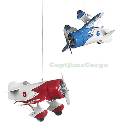 Squadron Hanging Airplane Kids Baby Crib Mobile
