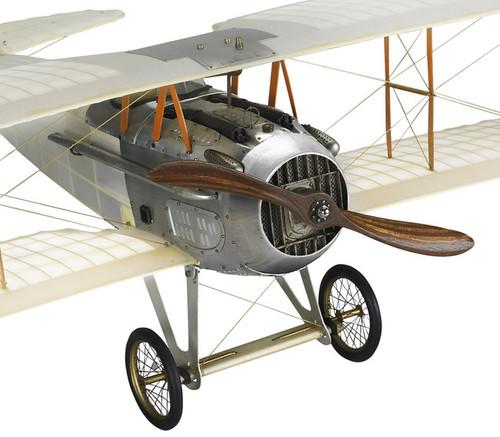 WWI Spad XIII Biplane Built Wood Model