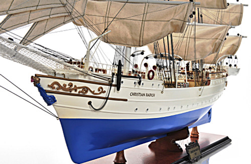 Windjammer Christian Radich Tall Training Ship Model