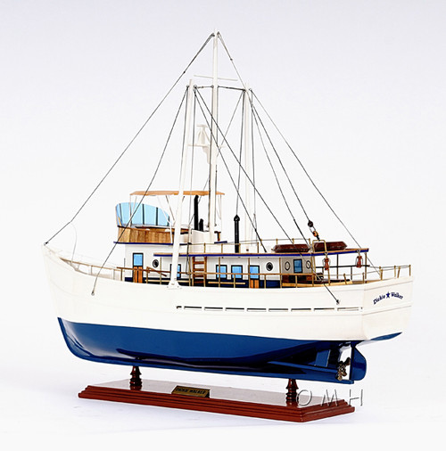 Dickie Walker Fishing Boat Trawler Wooden Model