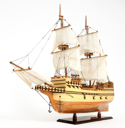 Mayflower 1620 Plymouth Pilgrim's Wood Ship Model