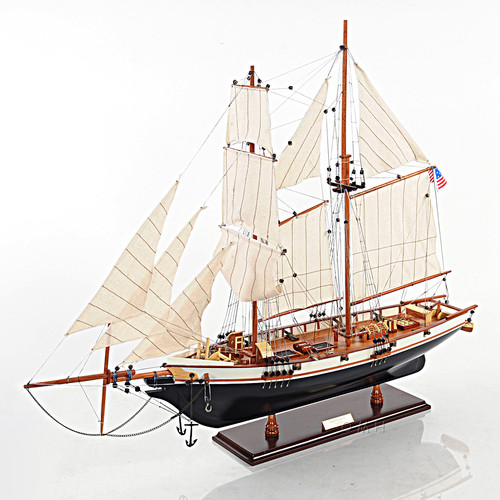 Harvey Baltimore Clipper Model Tall Ship Schooner