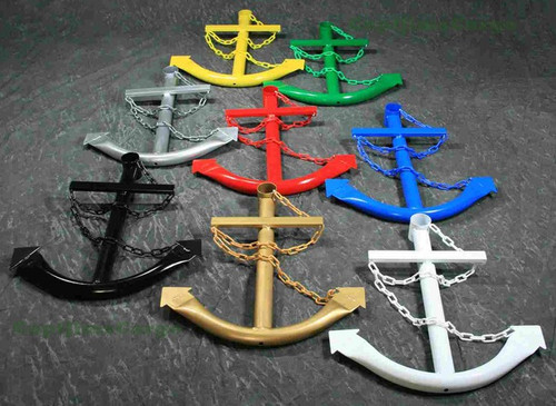 Decorative Ships Anchor Metal Nautical Home Decor