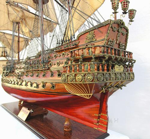 XL Spanish San Felipe Wood Model Huge