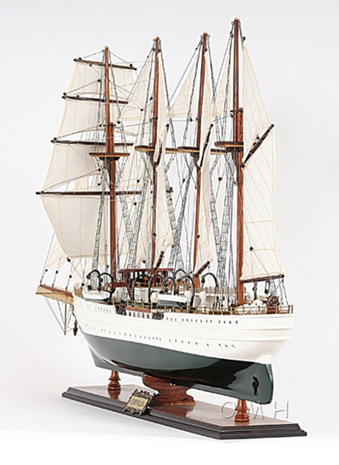 Esmeralda Chilean Navy Training Tall Ship Model