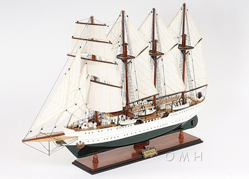 Esmeralda Chilean Navy Training Ship Wooden Model
