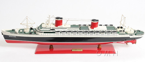 SS United States Ocean Liner Model Cruise Ship