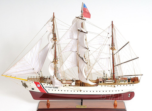 USCG Eagle Training Tall Ship Model Sailboat