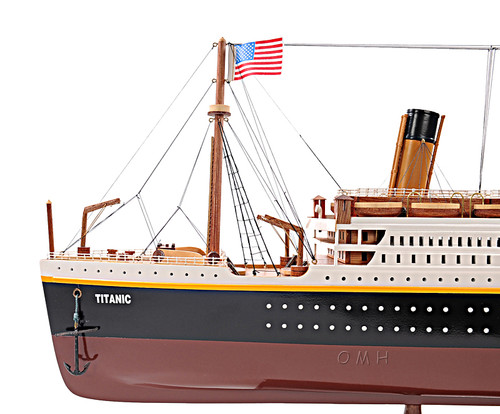 Titanic Ocean Liner Wooden Model Cruise Ship