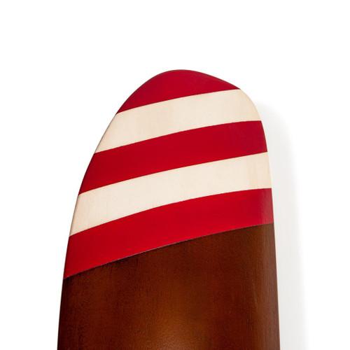 Barnstormer #1 Red & White Stripes Wooden Propeller
