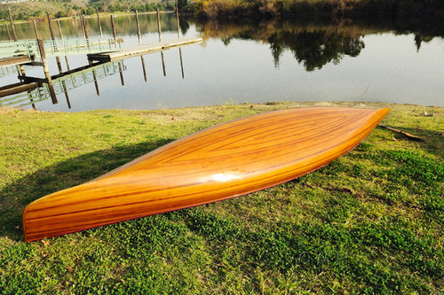Cedar Strip Built Canoe Wooden Boat Woodenboat USA
