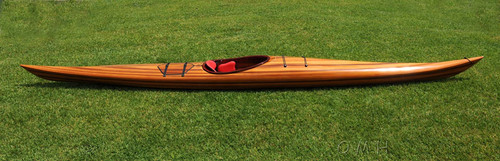 Cedar Wood Strip Built Hudson Surf Kayak