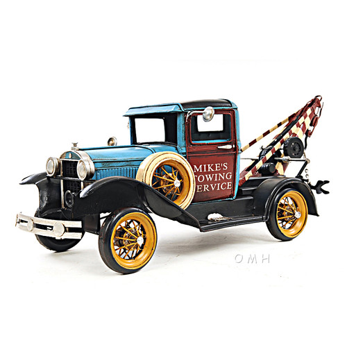 1931 Ford Model A Tow Truck Metal Desk Model