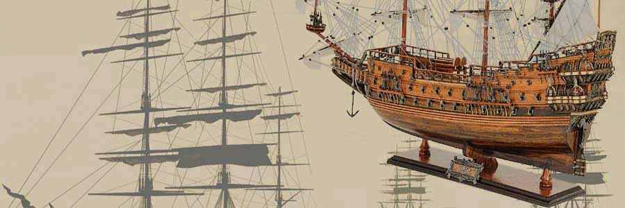 Tall Ship Wooden Model Sailboats Boats Assembled