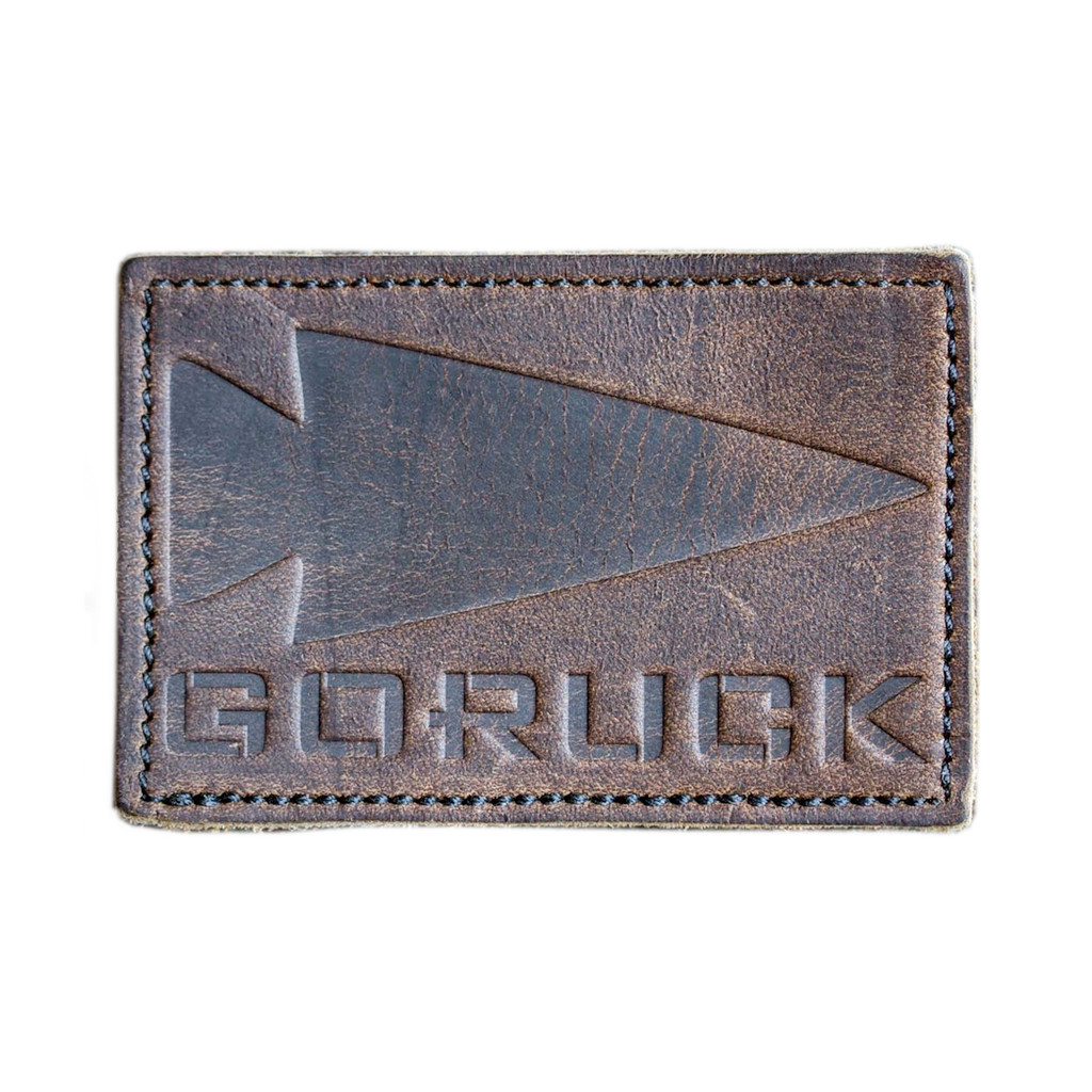 Patch - Leather GORUCK Spearhead