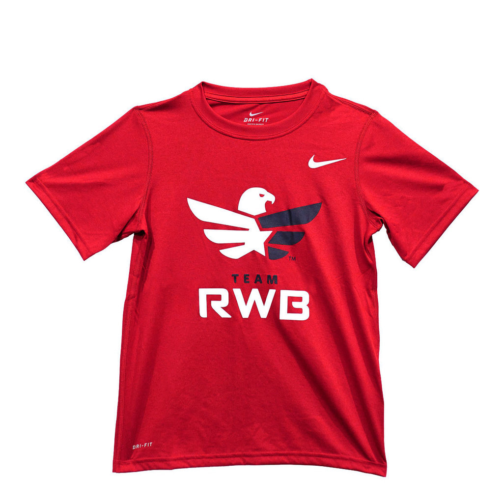Youth Performance Tee - Eagle (Nike)
