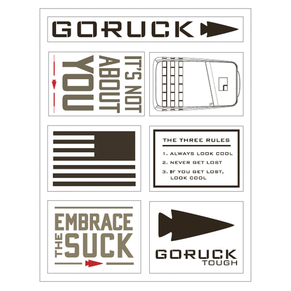 Sticker Sheets - GORUCK