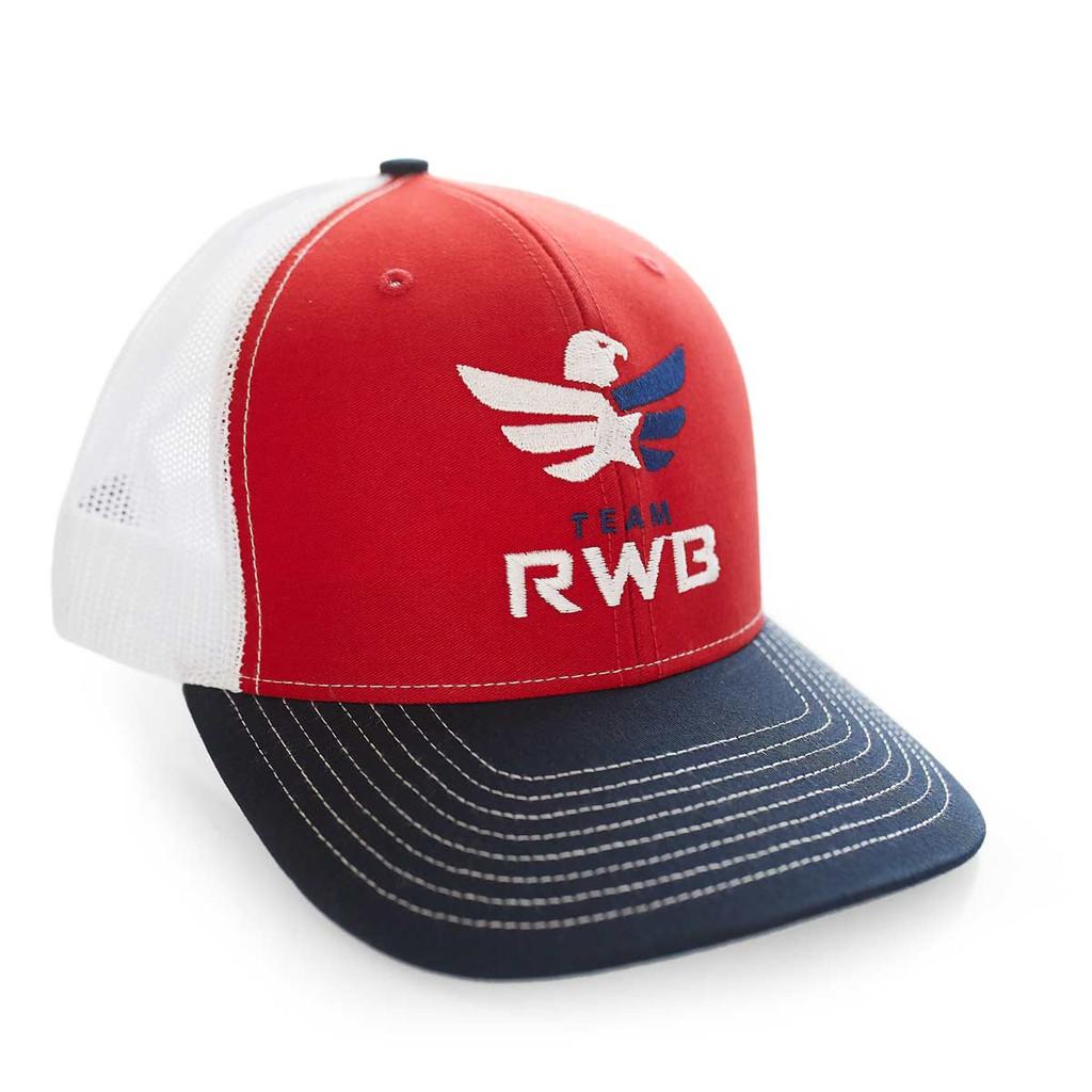 Snapback Hat - Team RWB (Red, White, and Blue)