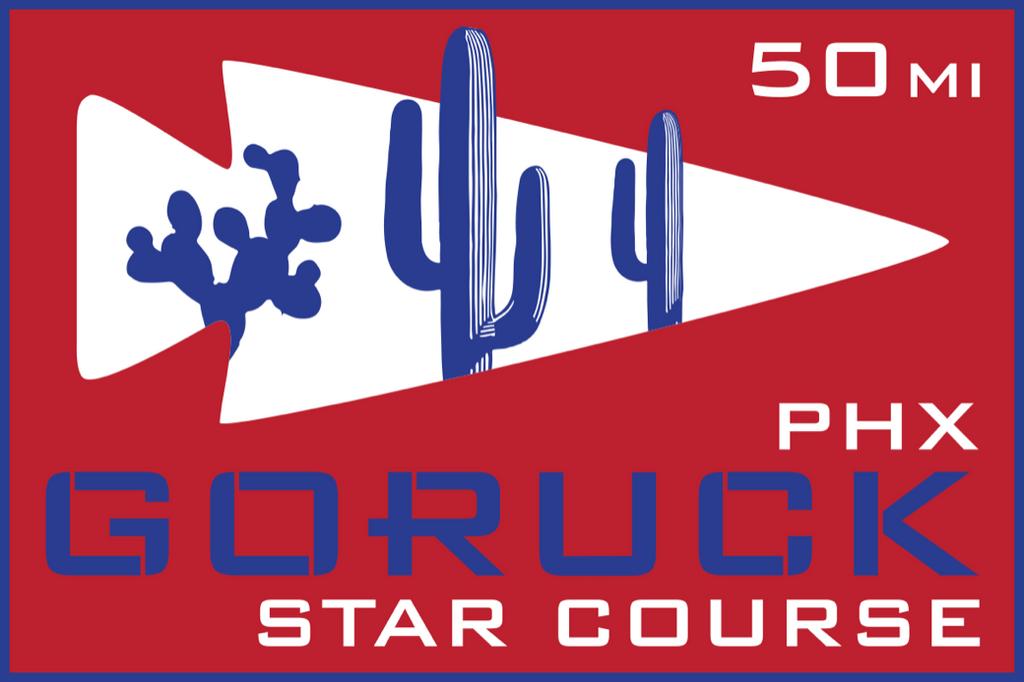 Patch for Star Course - 50 Miler: Phoenix, AZ 10/09/2020 21:00