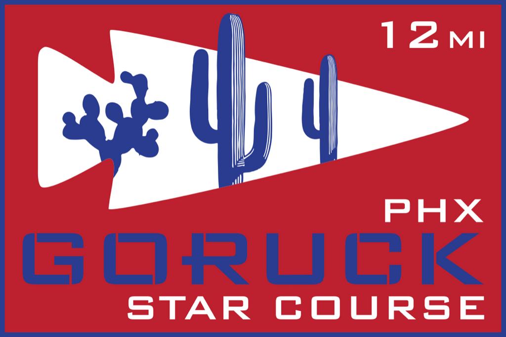 Patch for Star Course - 12 Miler: Phoenix, AZ 10/10/2020 12:00