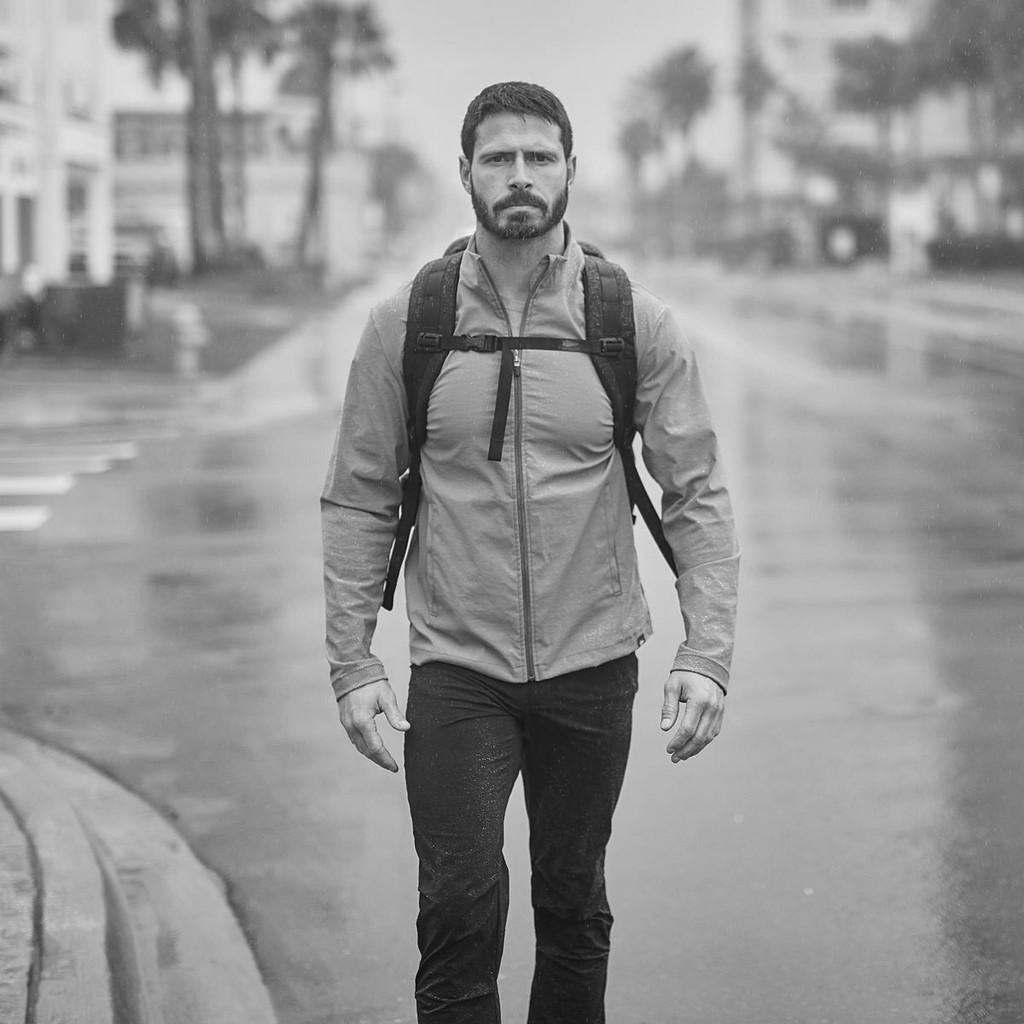 Simple Windbreaker - Midweight (Grey)