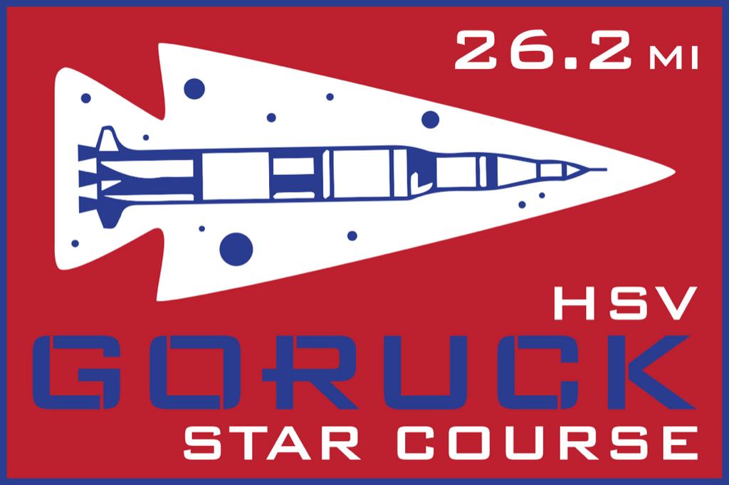 Patch for Star Course - 26.2 Miler: Huntsville, AL 10/24/2020 06:00