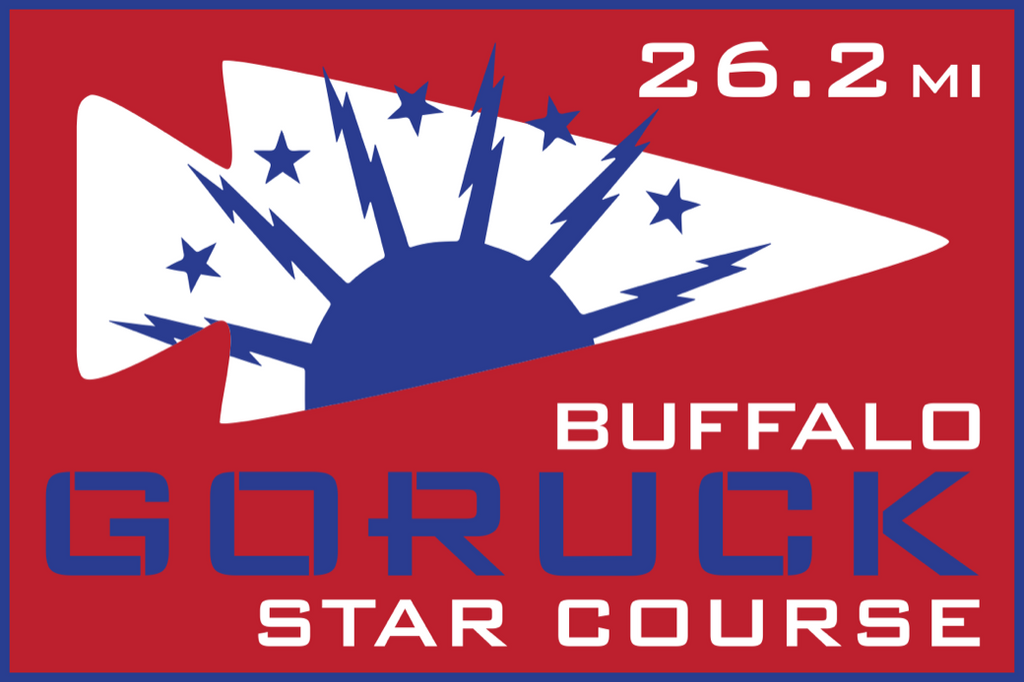 Patch for Star Course - 26.2 Miler: Buffalo, NY 10/17/2020 06:00