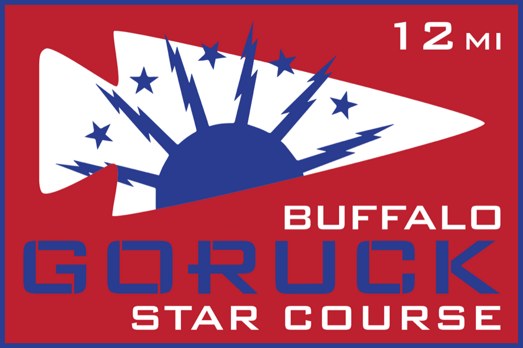 Patch for Star Course - 12 Miler: Buffalo, NY 10/17/2020 12:00