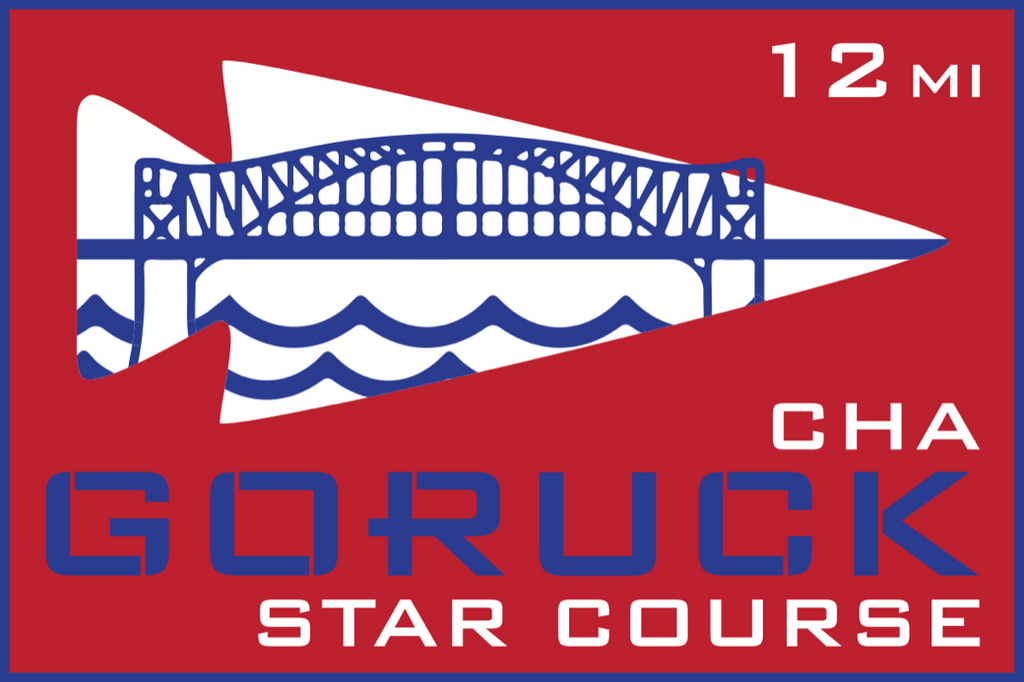 Patch for Star Course - 12 Miler: Chattanooga, TN 10/24/2020 12:00