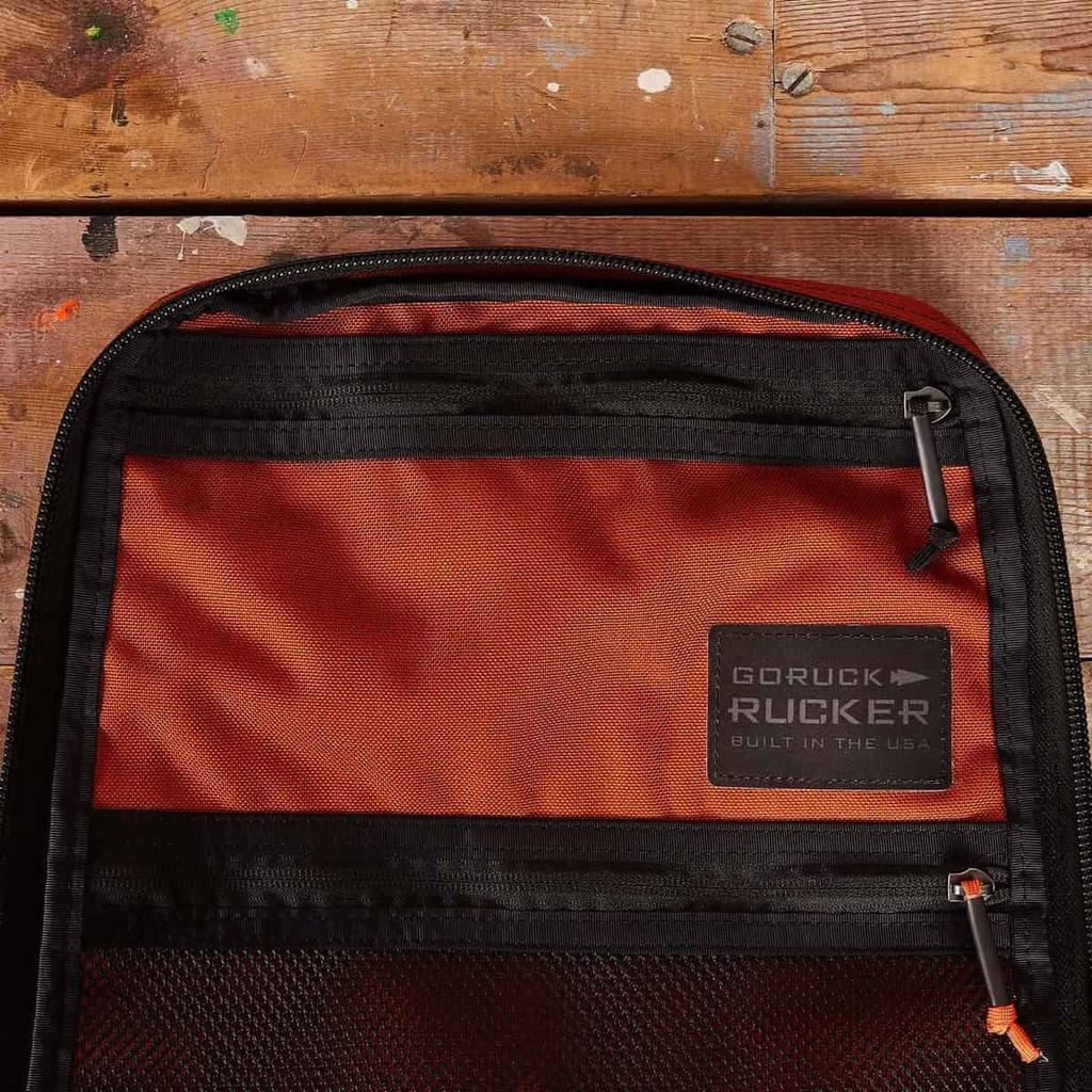 Rucker 20L (Burnt Orange + White Velcro)