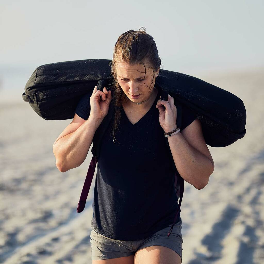 Sandbag Bundle - 120LB Black (Incl. 60LB Filler Bags x 2)